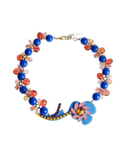 P.A.R.O.S.H. - Blue Necklaces - Lyst