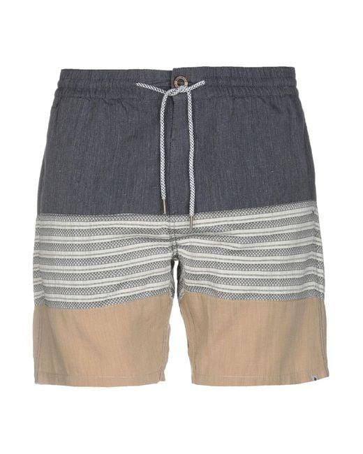 Volcom - Blue Bermuda for Men - Lyst