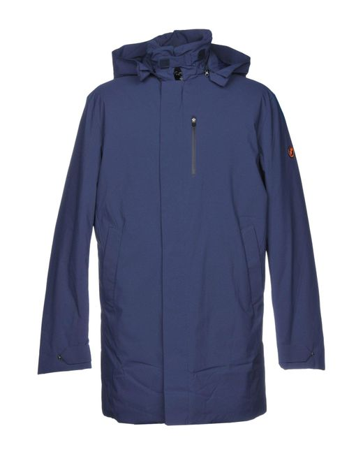 Save The Duck - Blue Synthetic Down Jacket for Men - Lyst