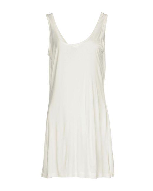 Silvian Heach - White Short Dress - Lyst