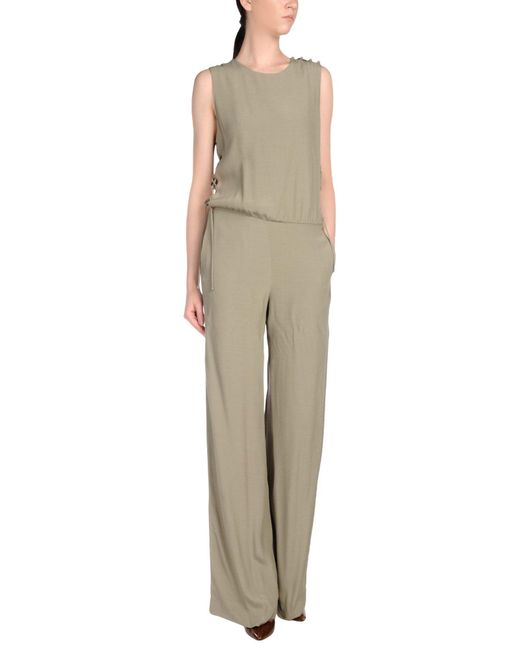 INTROPIA - Green Jumpsuit - Lyst