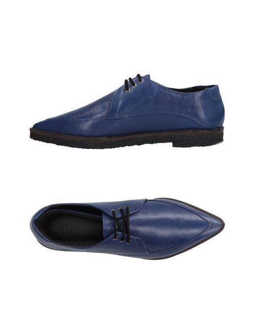 Tibi - Blue Lace-up Shoe for Men - Lyst