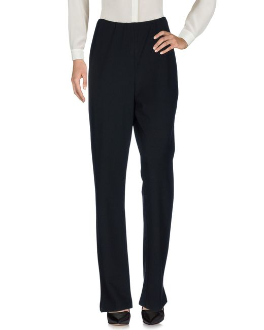 Donna Karan | Black Casual Pants | Lyst