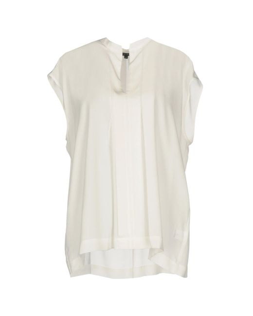 Brian Dales - White Blouse - Lyst