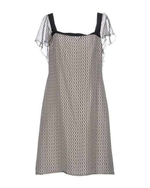Pianurastudio - Pink Knee-length Dress - Lyst
