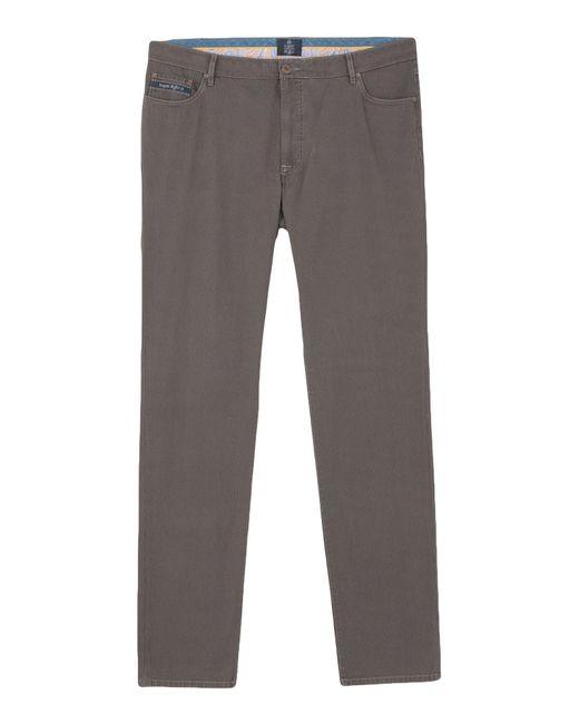 Bugatti Gray Casual Trouser for men