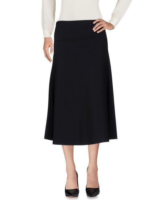 Maliparmi - Black 3/4 Length Skirt - Lyst