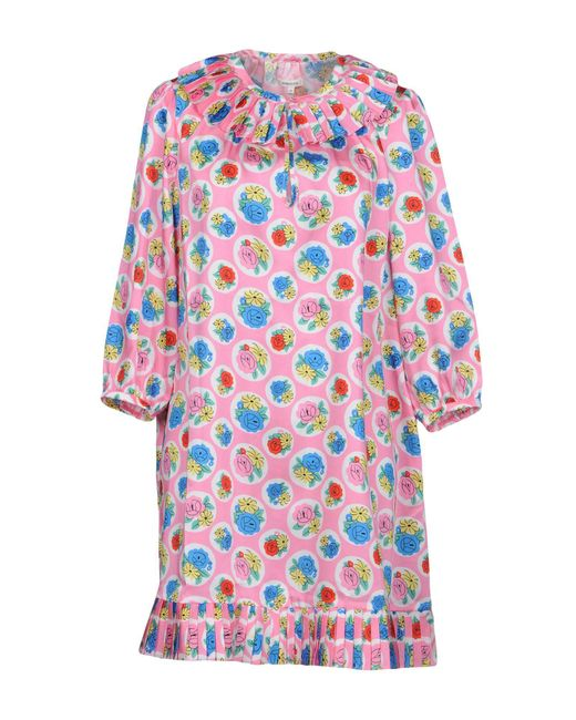 Manoush - Pink Short Dresses - Lyst