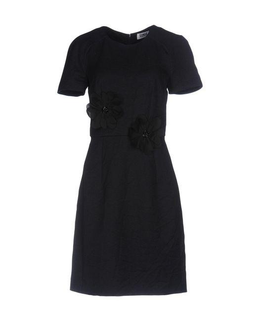 Sonia by Sonia Rykiel - Blue Short Dress - Lyst