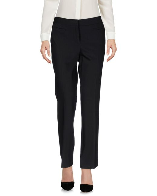 MICHAEL Michael Kors | Black Casual Trouser | Lyst