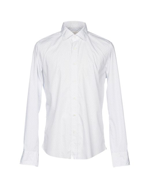 Guglielminotti - White Shirt for Men - Lyst