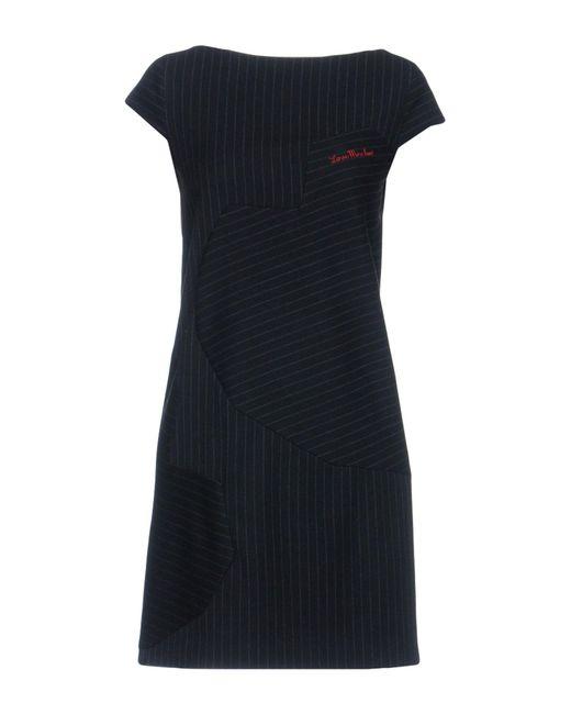 Love Moschino - Black Short Dress - Lyst