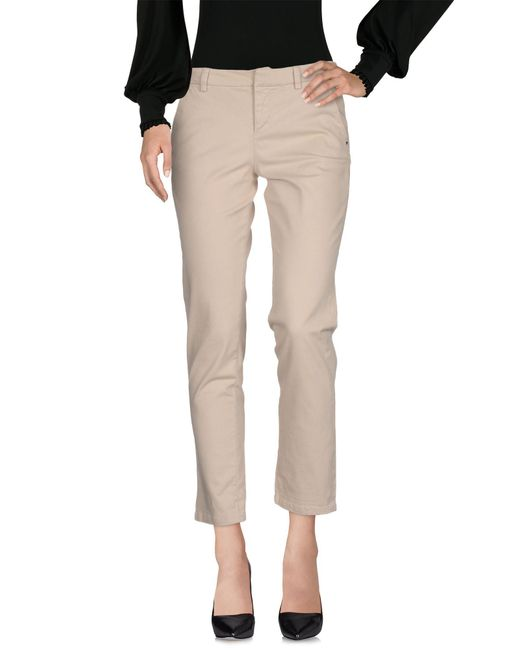 Guess - White Casual Trouser - Lyst