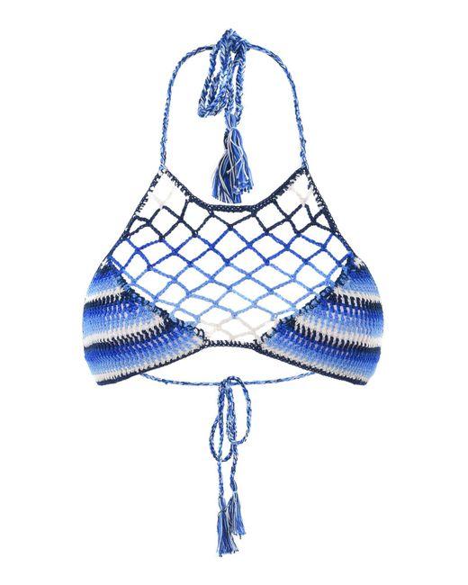 Anna Kosturova - Blue Bikini Top - Lyst