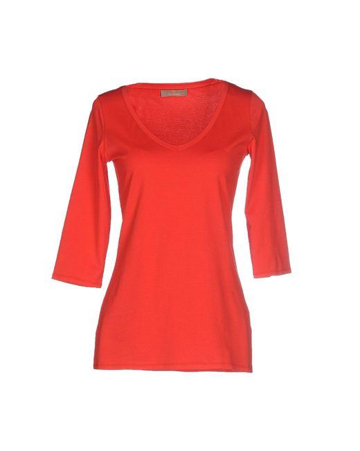 Cruciani - Red T-shirt - Lyst
