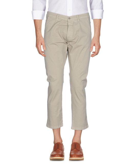 26.7 Twentysixseven - Natural Casual Trouser for Men - Lyst