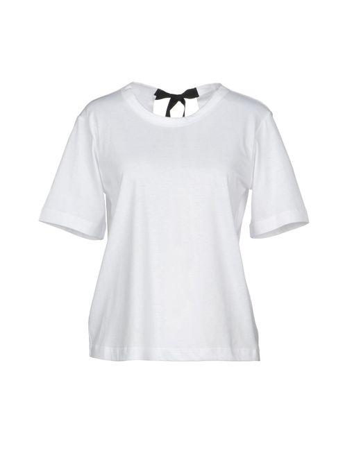 Marni - White T-shirts - Lyst