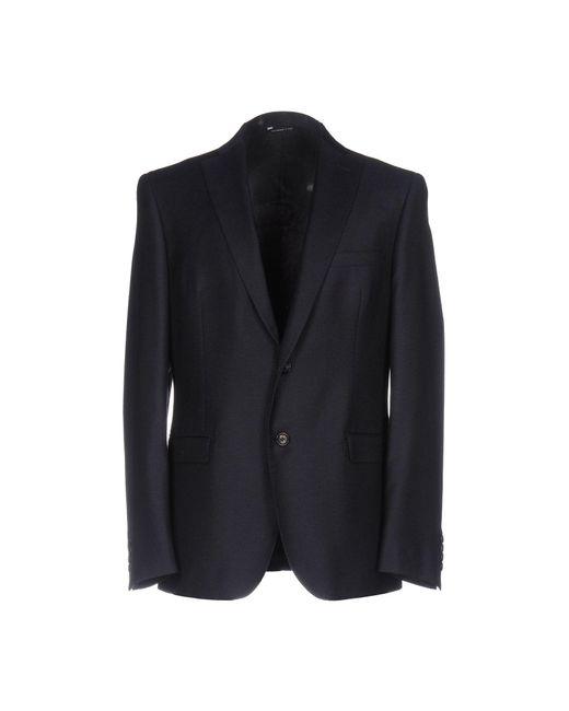 57 T - Blue Blazer for Men - Lyst