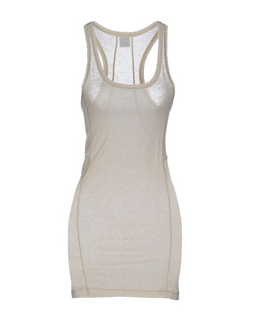 Pinko - Natural Tank Top - Lyst