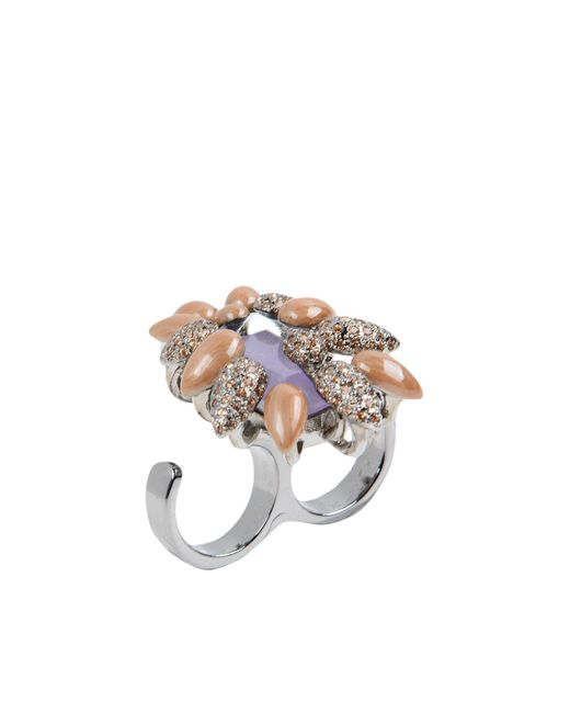Roberto Cavalli - Purple Ring - Lyst