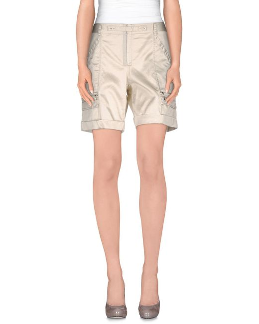 Armani Jeans - White Bermuda Shorts - Lyst