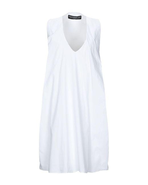 Department 5 White Short Dress