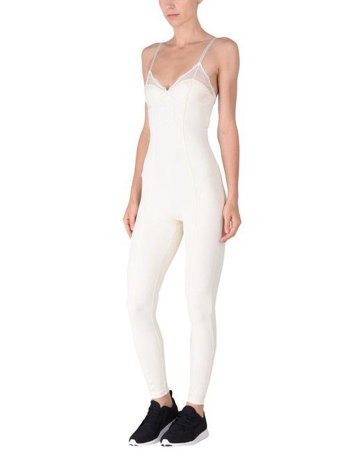 PUMA - White Jumpsuit - Lyst