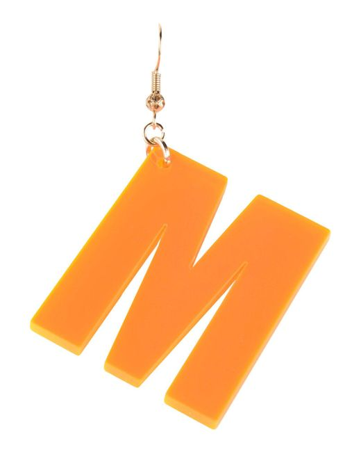 MSGM - Orange Earring - Lyst