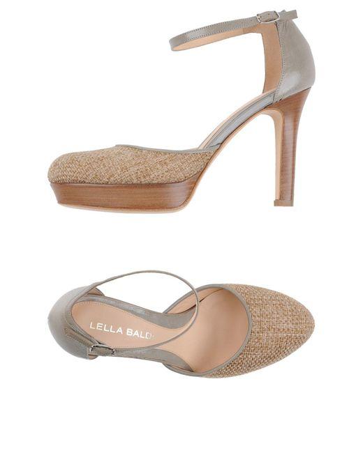Lella Baldi   Natural Sandals   Lyst