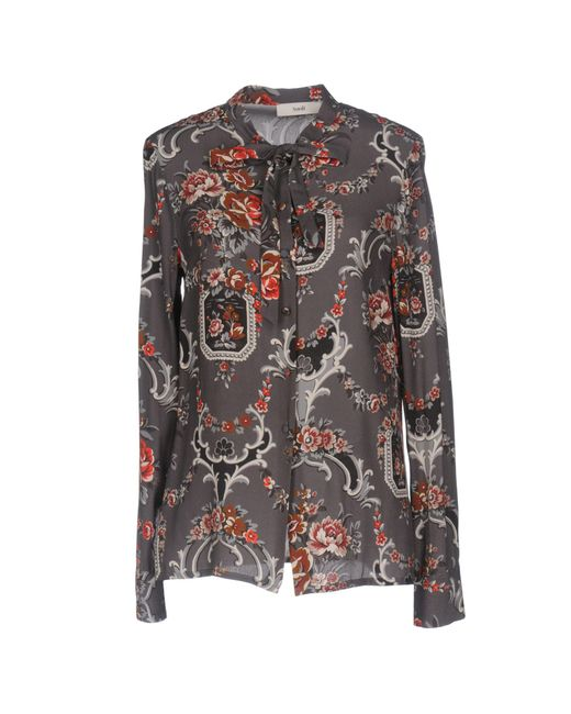 Suoli - Gray Shirt - Lyst