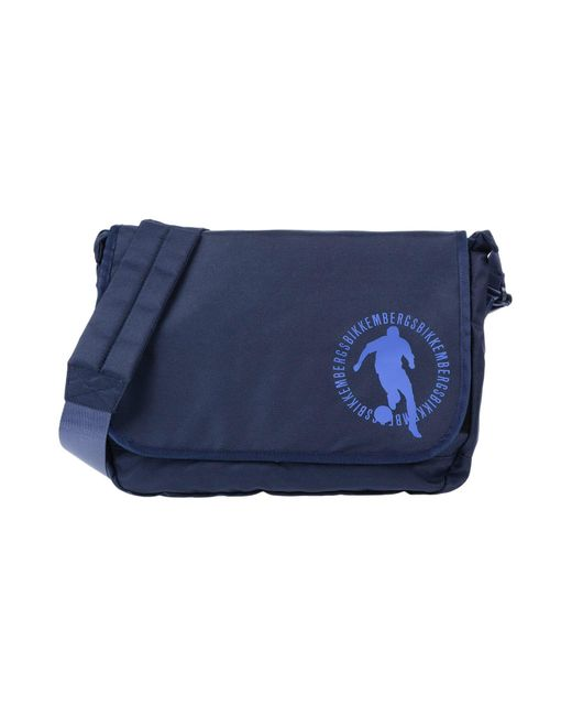 Bikkembergs - Blue Cross-body Bags for Men - Lyst