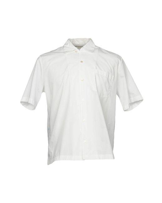 Stella McCartney - White Shirts for Men - Lyst