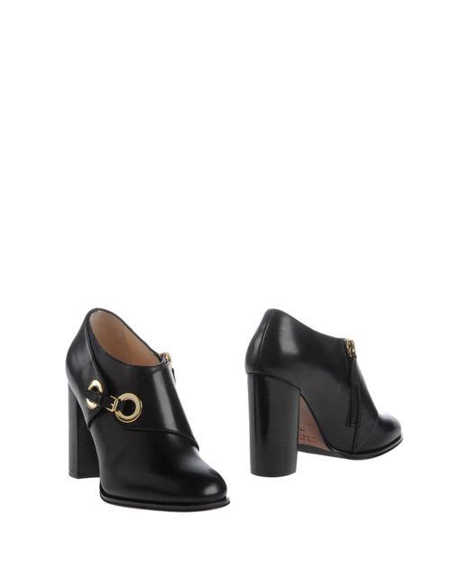 Lella Baldi - Black Shoe Boots - Lyst