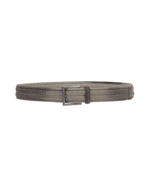 Orciani - Gray Belt for Men - Lyst