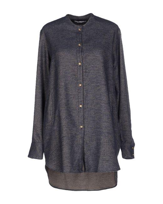Aglini - Gray Shirt - Lyst