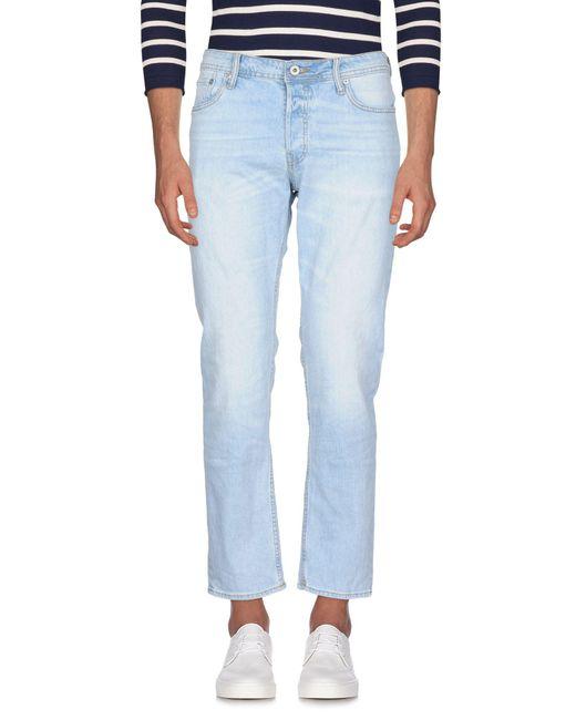 Jack & Jones - Blue Denim Pants for Men - Lyst