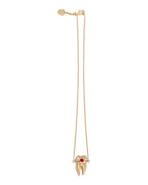 Schield | Metallic Necklace | Lyst