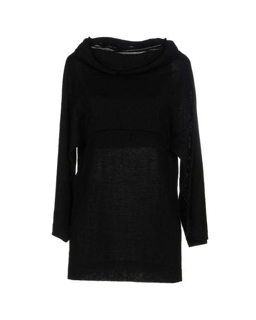 Alberta Ferretti - Black Sweater - Lyst