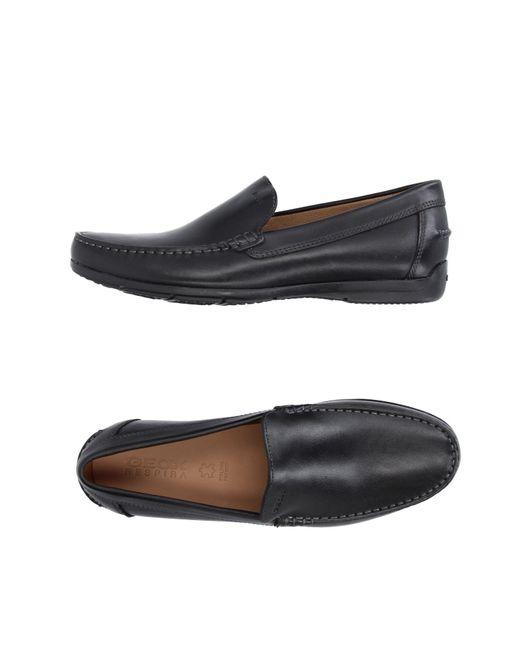 Geox - Black Loafer for Men - Lyst
