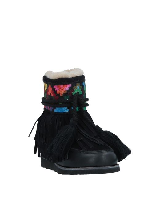Vetements Black Logo Platform Boots Va7g8
