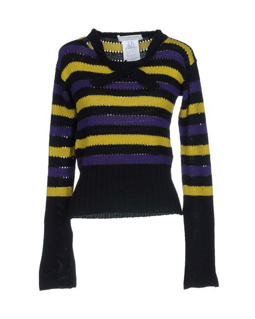 Alberta Ferretti - Purple Sweaters - Lyst