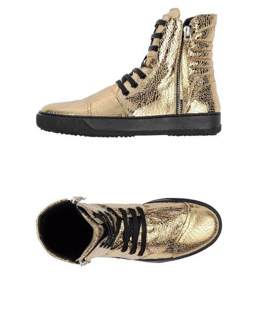 Bruno Bordese - Metallic High-tops & Sneakers - Lyst