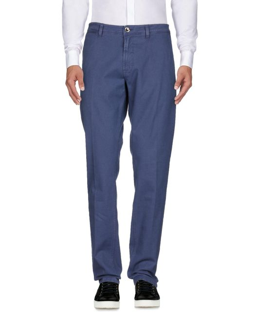 Fradi - Blue Casual Pants for Men - Lyst