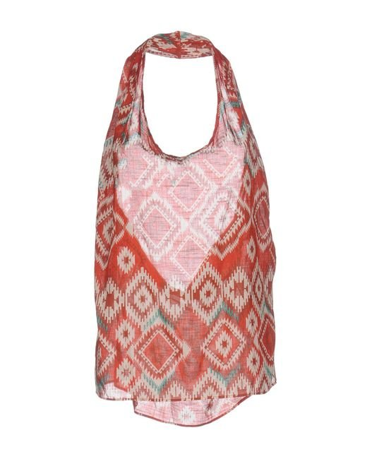 Zucca - Red Tops - Lyst