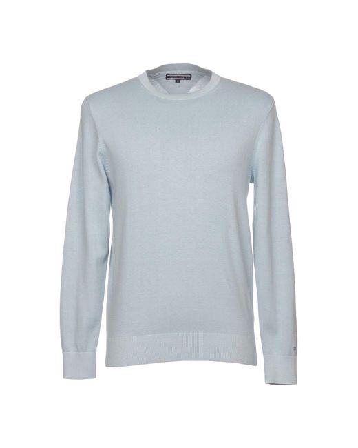 Tommy Hilfiger - Blue Sweater for Men - Lyst