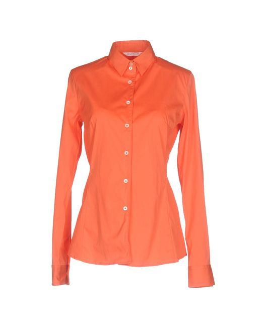 Guglielminotti - Orange Shirts - Lyst