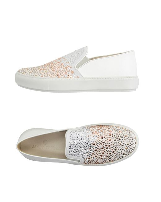 Janet & Janet - White Low-tops & Sneakers - Lyst