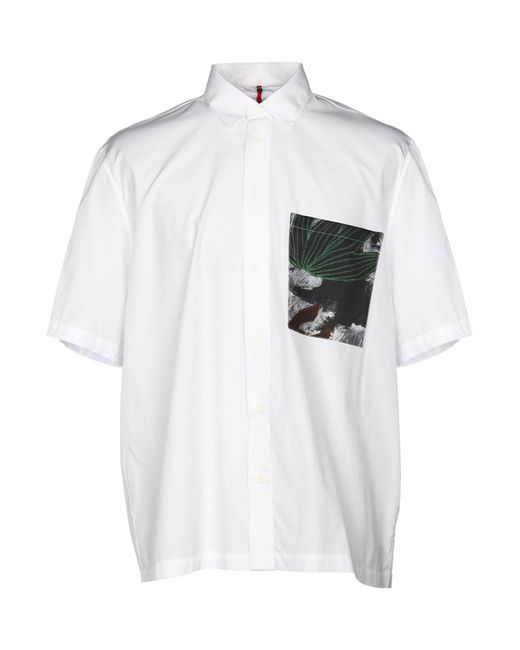 OAMC - White Shirt for Men - Lyst