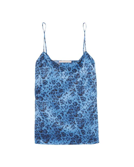 Stella McCartney - Blue Sleeveless Undershirt - Lyst