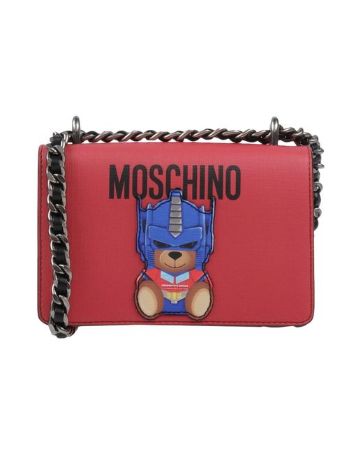 Moschino - Red Cross-body Bags - Lyst